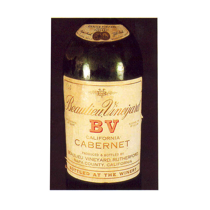 First Vintage of Georges de Latour Private Reserve Napa Valley Cabernet Sauvignon