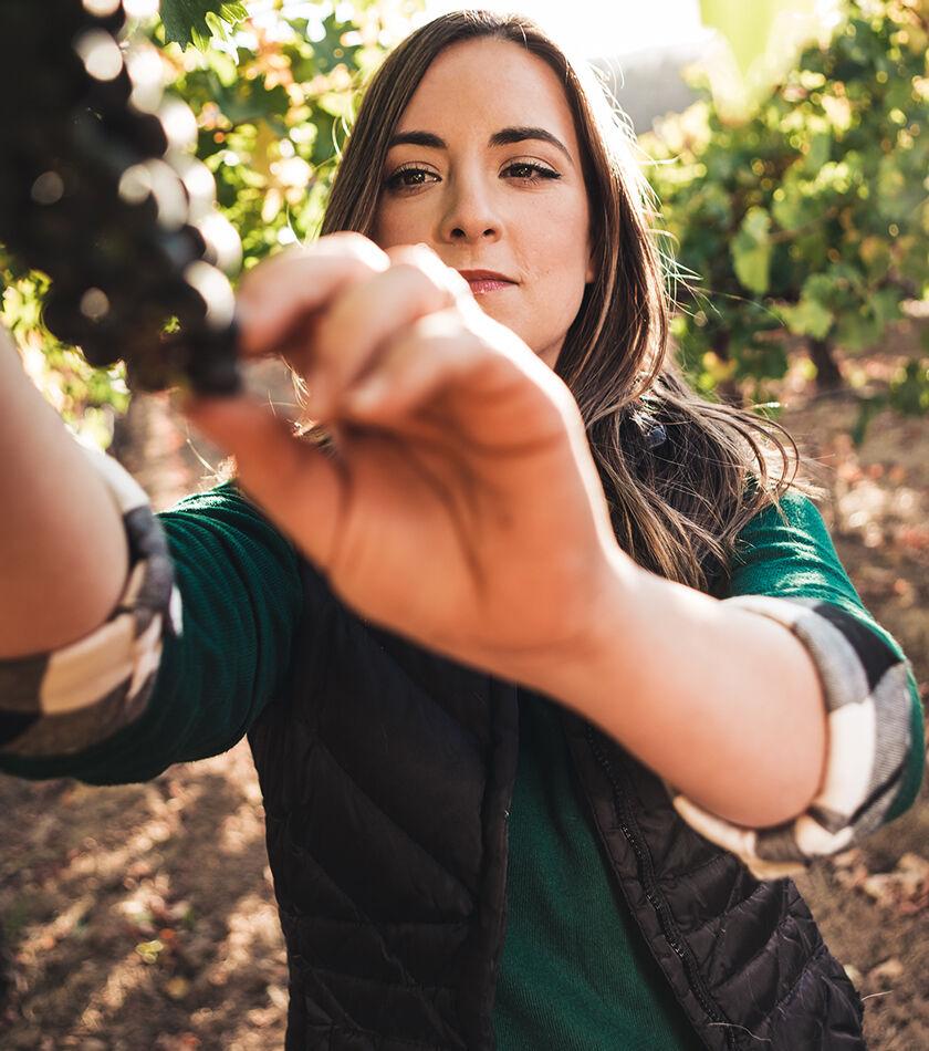 Megan Twitchell in Vineyard