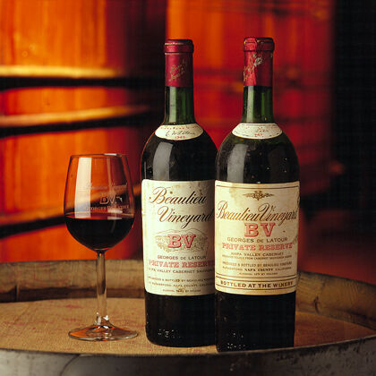 Older Vintages of Georges de Latour Cabernet Sauvignon