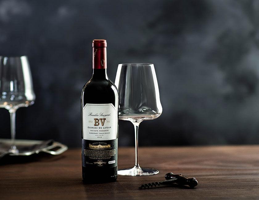 Bottle of Georges de Latour Private Reserve Cabernet Sauvignon from Le Corps de Latour Wine Club Shipment