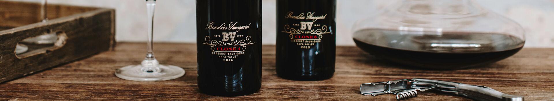 Beaulieu Vineyard (BV) Clone 4 and Clone 6 Cabernet Sauvignon