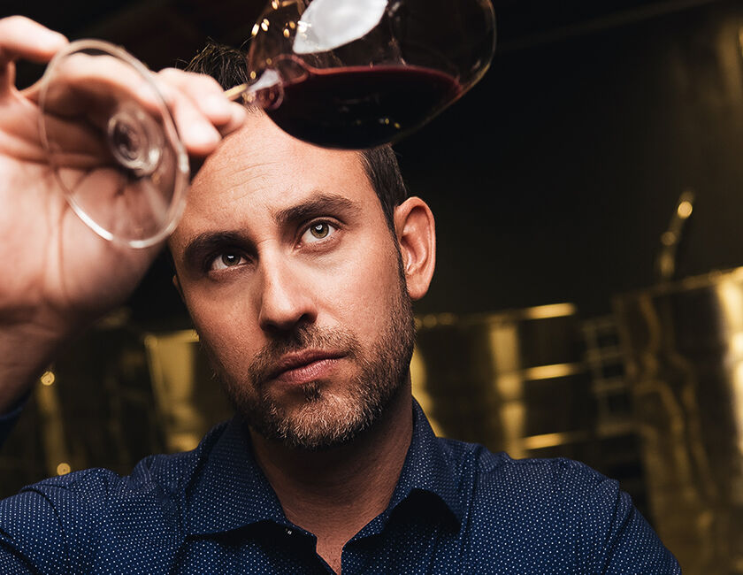 Beaulieu Vineyard Winemaker Trevor Durling Tasting Clone 6 Napa Valley Cabernet Sauvignon