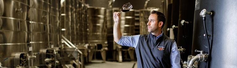BV Winemaker Trevor Durling