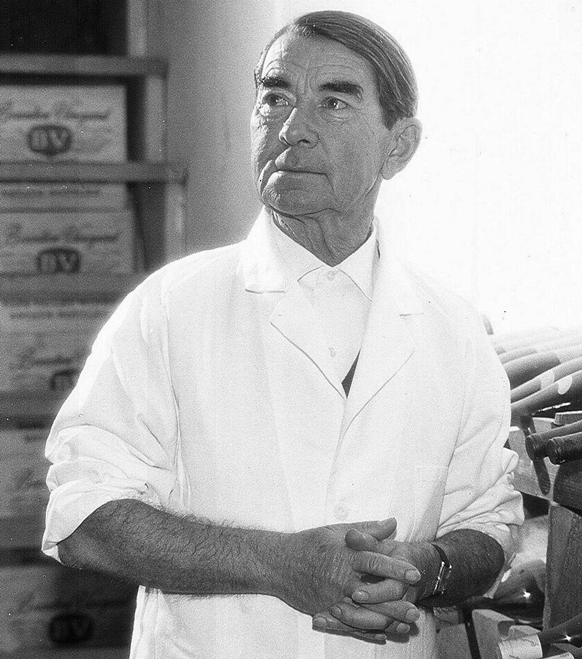 Beaulieu Vineyard Former Winemaker André Tchelistcheff