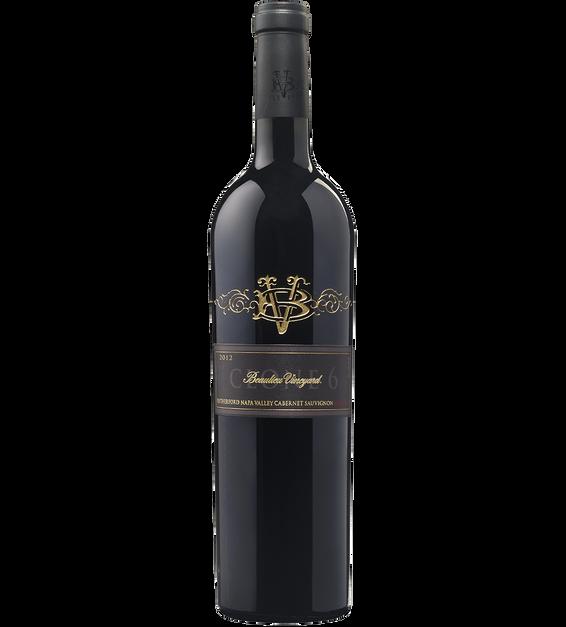 2012 Beaulieu Vineyard Clone 6 Rutherford Cabernet Sauvignon Bottle Shot