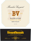 2018 Beaulieu Vineyard Tapestry Reserve Red Wine Napa Valley Front Label, image 2