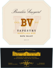 2017 Beaulieu Vineyard Tapestry Reserve Napa Valley Red Wine Front Label, image 2