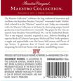 Beaulieu Vineyard 2014 Maestro Red Wine Back Label, image 3