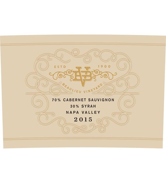 2015 Beaulieu Vineyard Maestro Reserve Napa Valley Cab/Syrah Blend Front Label