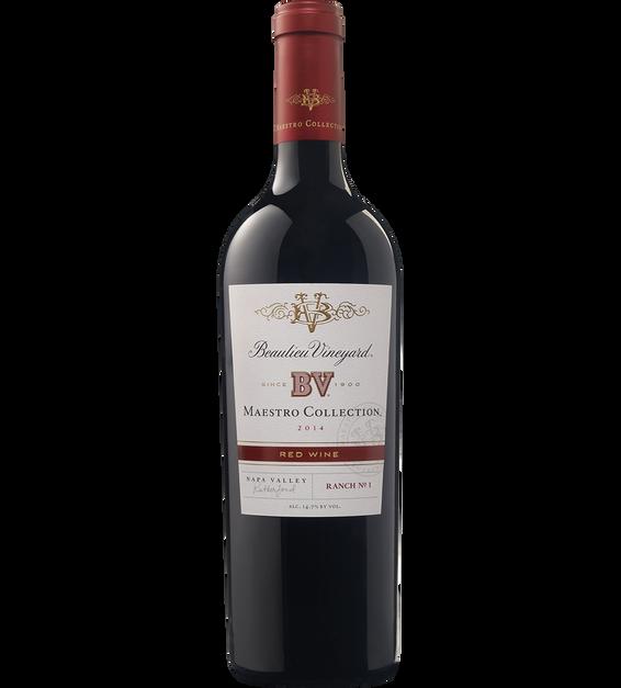 Beaulieu Vineyard 2014 Maestro Red Wine Bottle Shot