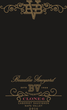 2016 Beaulieu Vineyard Clone 6 Napa Valley Cabernet Sauvignon Front Label, image 2