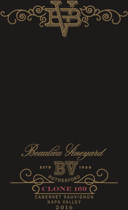 2016 BV Clone 169 Cabernet-Sauvignon