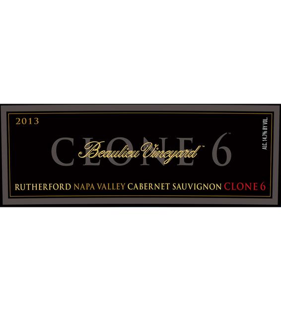 2013 Beaulieu Vineyard Reserve Clone 6 Rutherford Cabernet Sauvignon Front Label