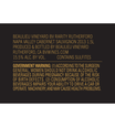 2013 Beaulieu Vineyard Rarity Napa Valley Cabernet Sauvignon Magnum Back Label, image 2