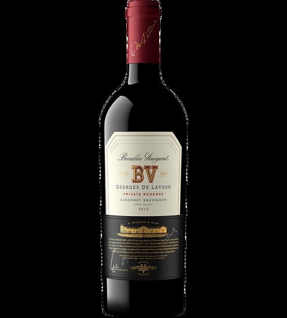2018 Beaulieu Vineyard Georges de Latour Napa Valley Private Reserve Cabernet Sauvignon Magnum Bottle Shot
