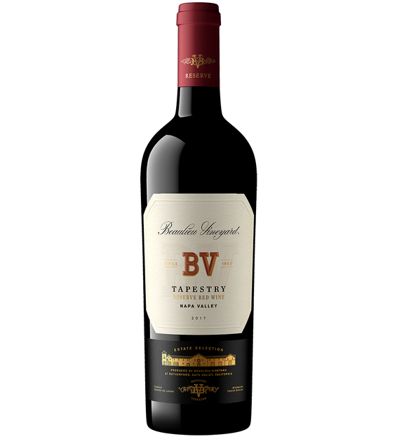 2017 Beaulieu Vineyard Tapestry Napa Valley Reserve Red Wine Magnum Bottle Shot