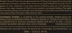 2016 Beaulieu Vineyard Clone 6 Napa Valley Cabernet Sauvignon Back Label, image 3