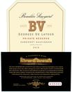 2018 Beaulieu Vineyard Private Reserve Georges de Latour Napa Valley Cabernet Sauvignon Front Label, image 2