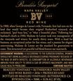 2016 Beaulieu Vineyard Madame de Latour Rutherford Red Blend Back Label, image 3