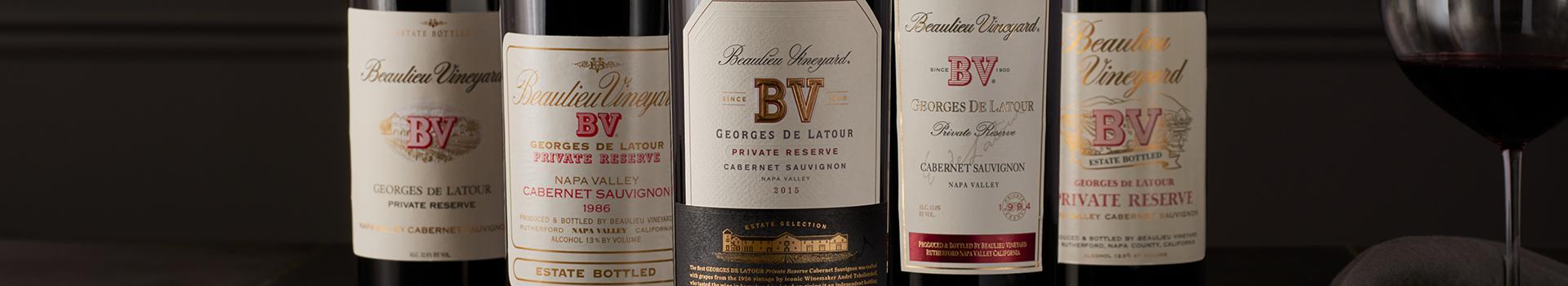 Library VIntages of Georges de Latour