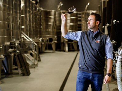 Winemaker Trevor Durling